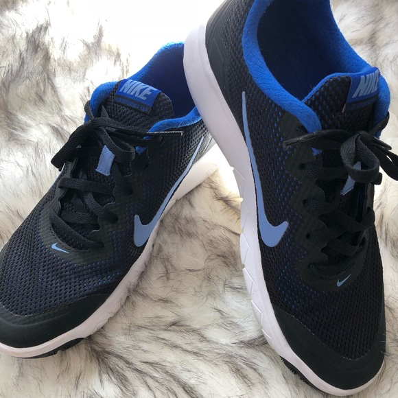 Zapatos Nike Mujeres Athletic Athletic Negro Y Azul Athletic Mujeres Mujeres 75 730333
